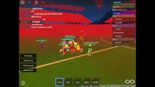 ROBLOX PARTYYIINNGGG AT FC BARCELONA!!