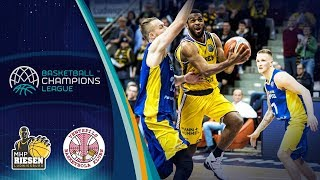 MHP Riesen Ludwigsburg v Ventspils - Highlights - Basketball Champions League