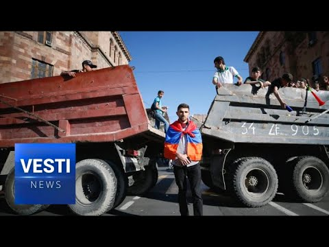 Armenia Descends Into General Strike - Pashinyan and Supporters Blockade Roads in Yerevan