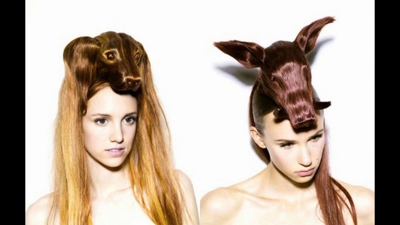Ausgefallene Frisuren Aktuelle Neue Frisurentrends Youtube