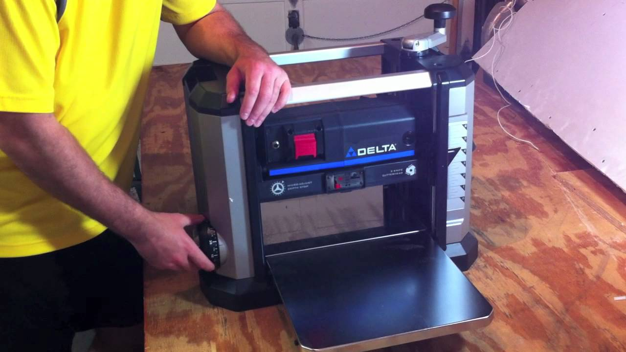 Delta 13 Portable Thickness Planer 22 590 Review