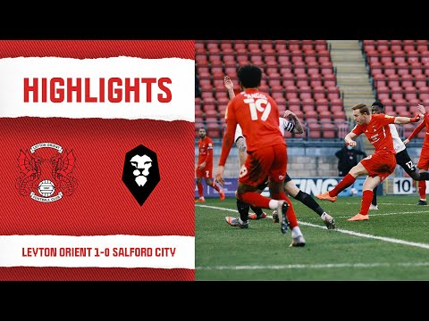 Leyton Orient Salford Goals And Highlights