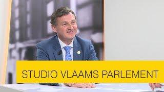 Studio Vlaams Parlement: Karl Vanlouwe over de positie van het Nederlands in Brussel