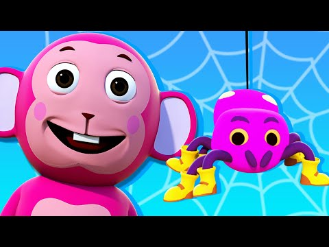 Free Download Itsy Bitsy Spider Song - Best 3d Nursery Rhymes Collection By All Babies Channel - Kids Song Mp3 dan Mp4