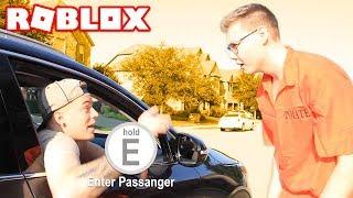 ROBLOX JAILBREAK IN REAL LIFE!! *GETAWAY DRIVER*
