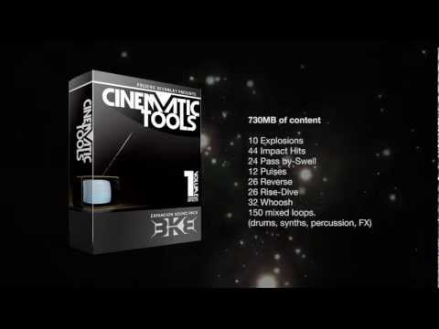 Cinematic Tools Expansion Sound Pack WAV Samples for Film and TV