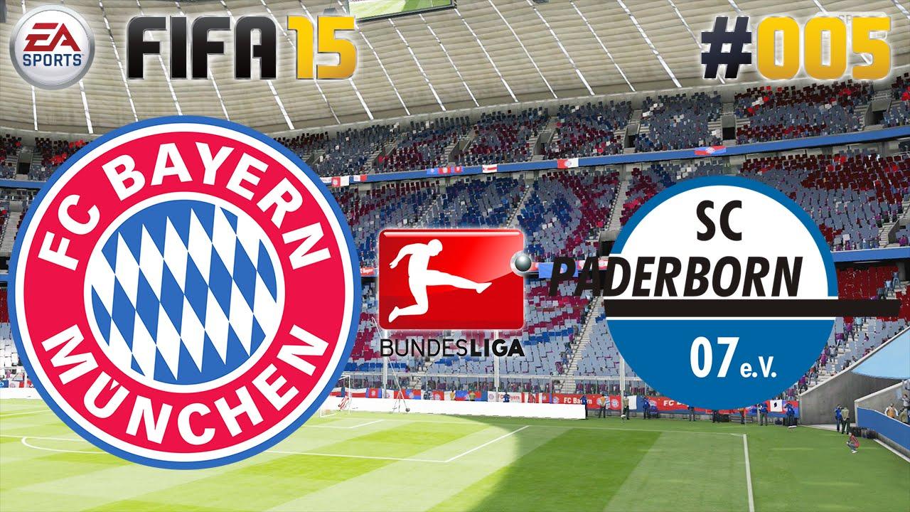 FIFA 15 #005 FC Bayern vs. SC Paderborn 07 ★ Bundesliga