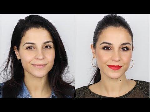Transforma tu Maquillaje de DÍA en uno de NOCHE | Maquillaje Rápido para Eventos