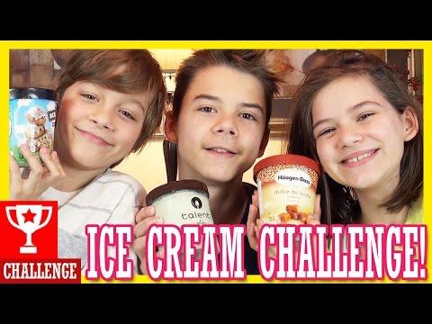 ICE CREAM CHALLENGE!  |  KITTIESMAMA