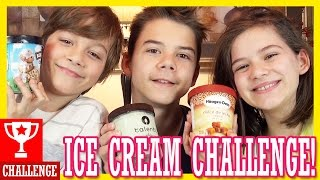 ICE CREAM CHALLENGE!  |  KITTIESMAMA