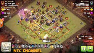 Clash of Clans | NHIET TINH COC vs VIETNAM HUMAN - The Art of Miner