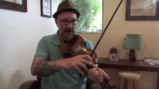 Old-Time Fiddle Lesson: Kiss Me Quick, My Papa