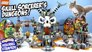 LEGO Ninjago Skull Sorcerer's Dungeons Game Speed Build Review 2020