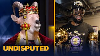 Skip & Shannon react to LeBron & the Lakers winning the 2019-20 NBA Finals   NBA   UNDISPUTED