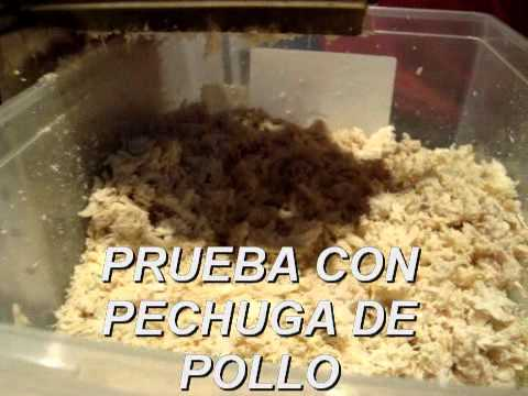 PRUEBA CON PECHUGA DE POLLO