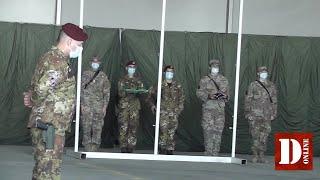 8 giugno 2021: ammainabandiera in Afghanistan