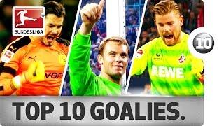 Neuer, Bürki & More - Top 10 Goalkeepers So Far