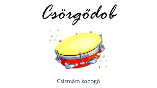 Hangszer ovi - Csizmám kopogó (csörgődob) / Hungarian children song (cat, cow, dog, animal)