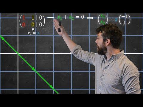 The Null Space & Column Space Of A Matrix     Algebraically & Geometrically