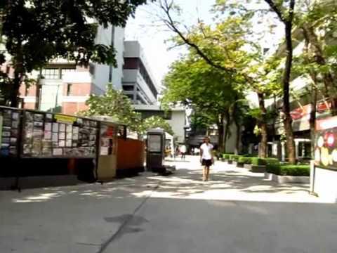 "I Visit Bangkok University and Have a Great Cheap Lunch - ""Phil in Bangkok"""