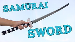 How to Make a Ninja Sword (KATANA)