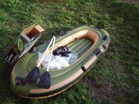 Лодка ПВХ, надувная лодка voyager 300
