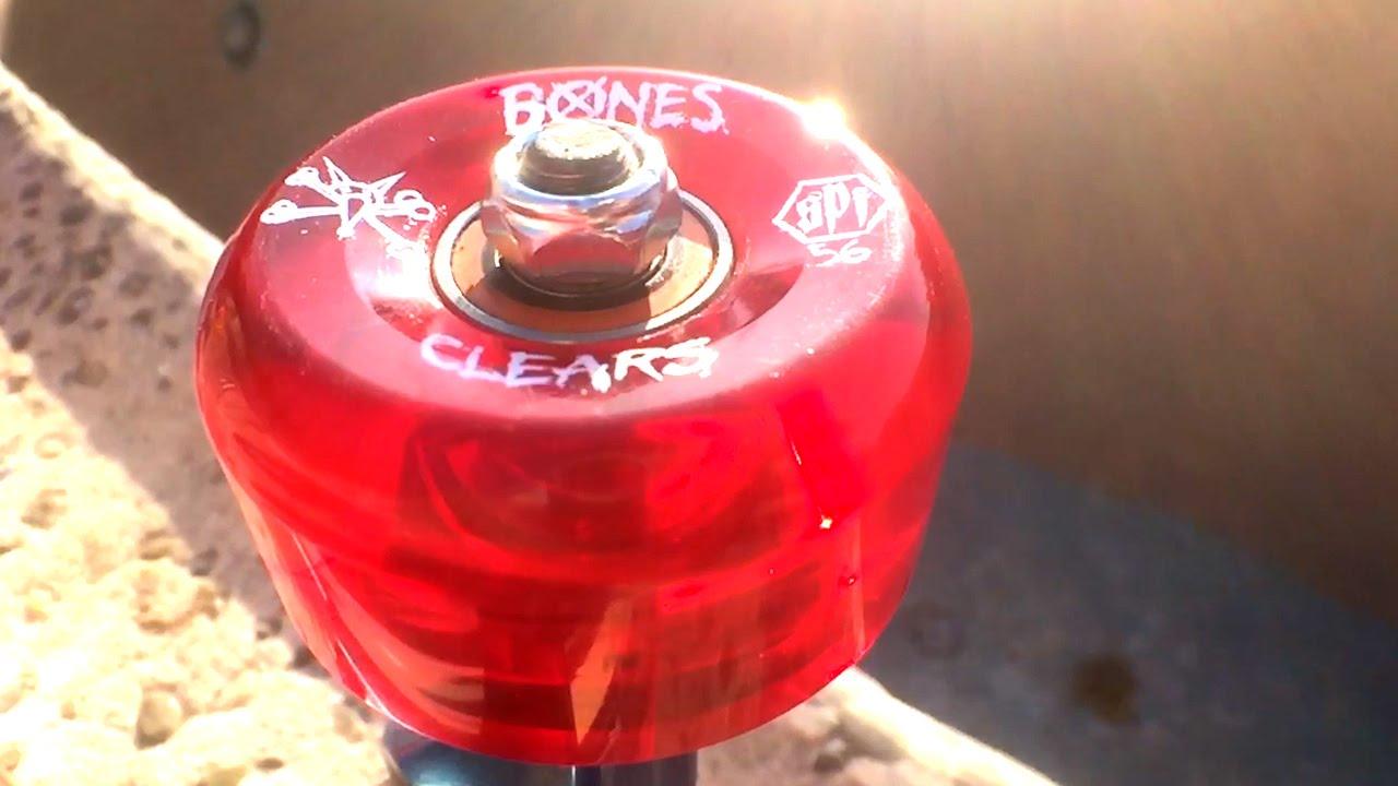 Bones SPF Clears Available at SoCal Skateshop - YouTube 73e46c513ec