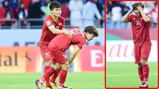 Minh Vương suy sụp vì màn sút hỏng quả penalty,Quang Hải hành động gây bất ngờ..đáng trân trọng