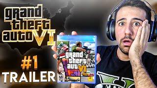 REACCIONO AL TRAILER DE GTA 6 !! Grand Theft Auto VI Trailer - ElChurches