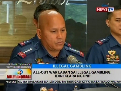 BT: All-out war laban sa illegal gambling, idineklara ng PNP