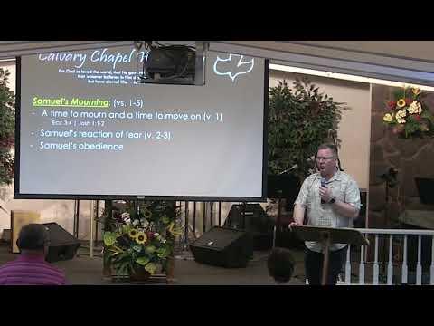 30 May 2018 | CCWO Midweek Study 1Samuel 16 | Pastor Dan Jacobson