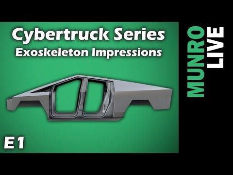Cybertruck E1 - Body Structure Comparison