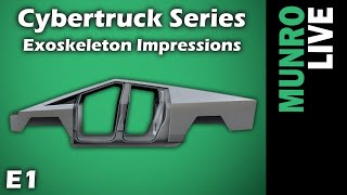 Cybertruck E1 - Body Structure Comparison