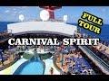 Carnival Spirit all deck tour