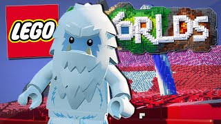 Lego Worlds | THE YETI IN CANDYLAND!! [#5]