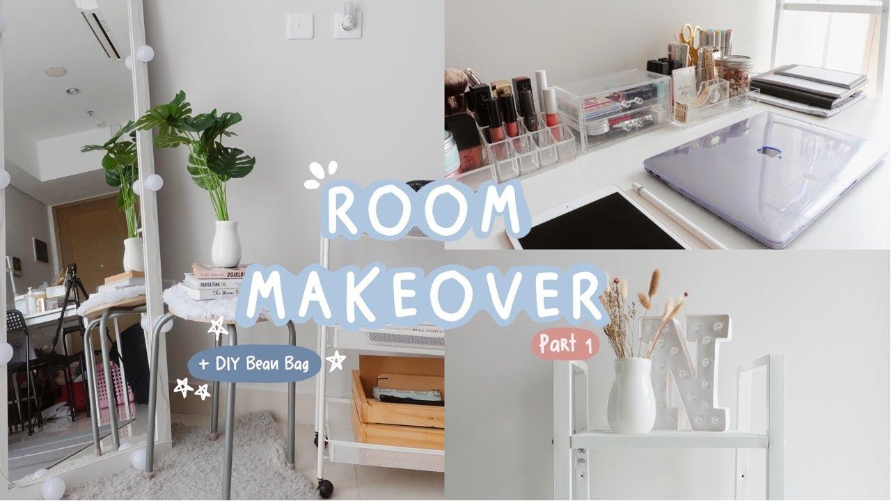 Room Makeover (Aesthetic Minimalist Room Decor) Indonesia ...