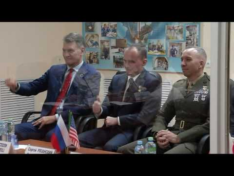 Russian State Commission Meeting and Final ISS Expedition 52-53 Pre-Launch Crew News Conference