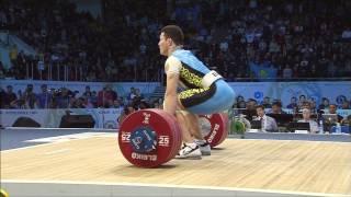 Қазақтар ауыр атлетикадан әлем чемпионатында. Алматы 2014