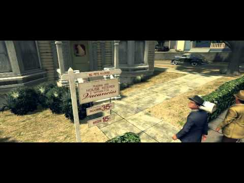 LA Noire - Homicide Desk Case 3 - 5 Star - The Silk Stocking Murder - Part 1
