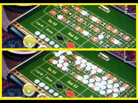 Roulette neighbour bets strategy. Two different strategies shown, better and worth.