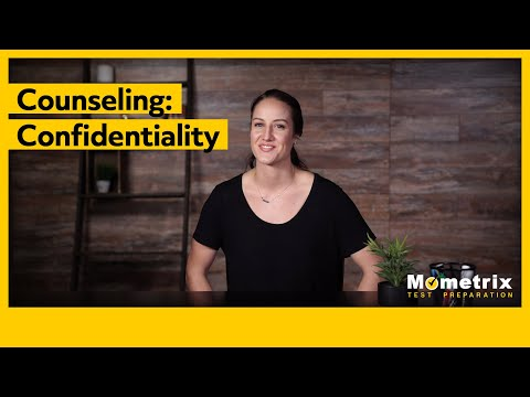 Ethics confidentiality in counseling