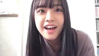 프로듀스48에 출연했던 모토무라 아오이(本村碧唯)의 2018년 10월 24일...