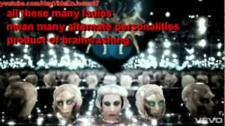 Lady Gaga  Satanic Messages  Born This Way  illuminati  Symbolism