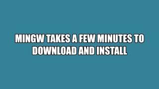 setup VS Code For C Using MinGW