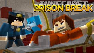 Minecraft PRISON BREAK - SHARKY AND SCUBA STEVE ESCAPE!??