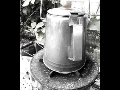 Off Grid Cooking on a Rocket Stove
