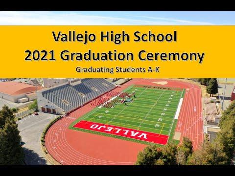Vallejo High School Graduation Ceremony 1