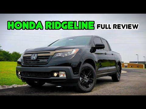 2019 Honda Ridgeline: FULL REVIEW + DRIVE | A Truck Like No Other!