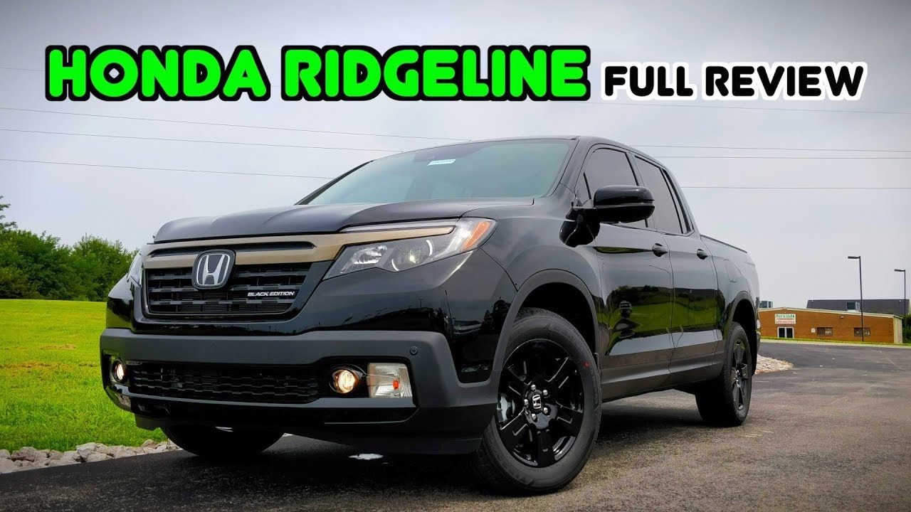 2019 Honda Ridgeline Full Review Drive A Truck Like No Other