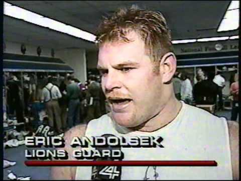 DETROIT LIONS 1991 - (NFC - Detroit embarasses Dallas)